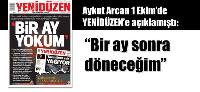 Aykut Arcan'dan SES YOK!