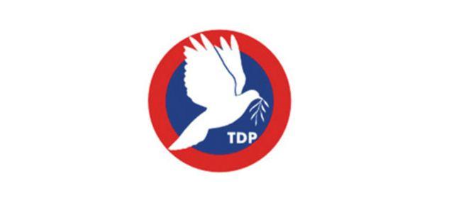 """TDP: """"Özelleştirmelerden halka hayır yok"""""""