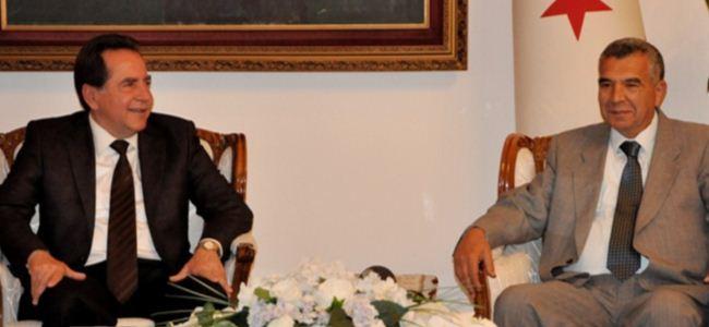 Fellahoğlu bu kez ziyaret için Meclisteydi