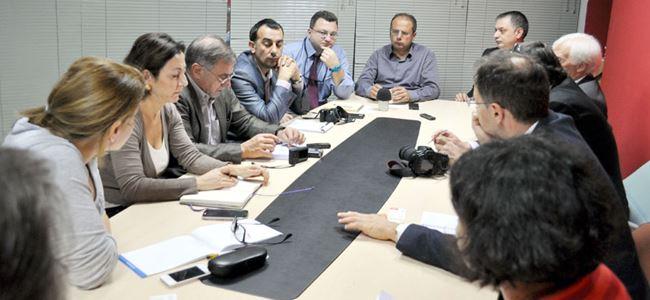 Avrupalı gazeteciler United Medya'da