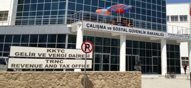 Girne Vergi Dairesinde uyarı grevi