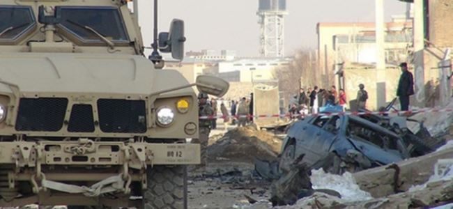 Afganistanda NATO konvoyuna saldırı