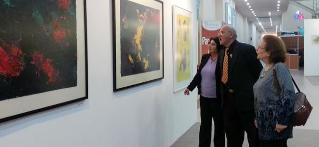 Sanatçılarımızın eserleri  ARTİST 2014te yer aldı