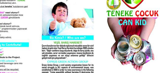 """Yeşil Barış Hareketi """"Teneke Çocuk"""" projesine başlıyor"""