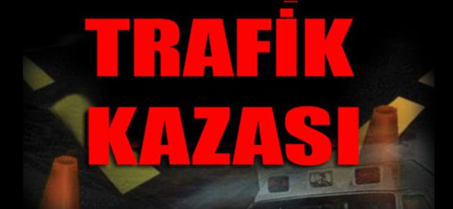 75 trafik kazası, 13 yaralı