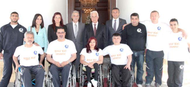 Kuzey Kıbrıs Turkcell Tekerlekli Sandalye Basketbol Takımı İspanya yolcusu