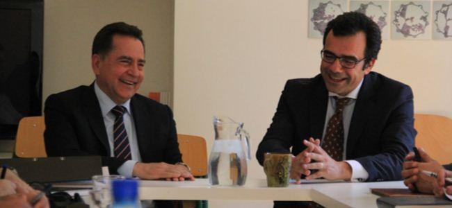 Fellahoğlu ve Yorgacis, Lefkoşayı görüştü
