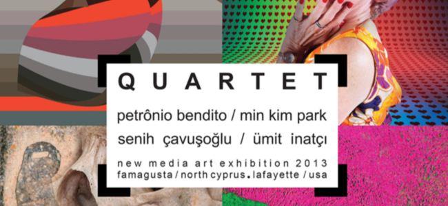 """DAÜ'de """"Quartet"""" adlı yeni medya sergisi"""