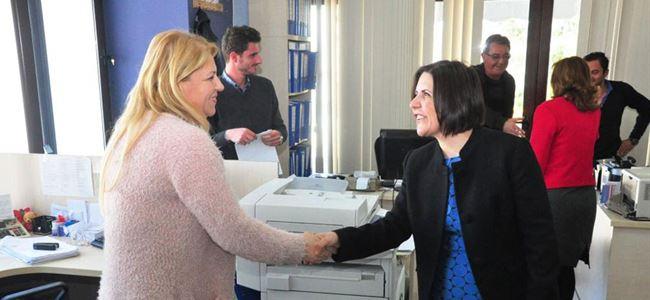 Siber, Girne Belediyesi'ni ziyaret etti