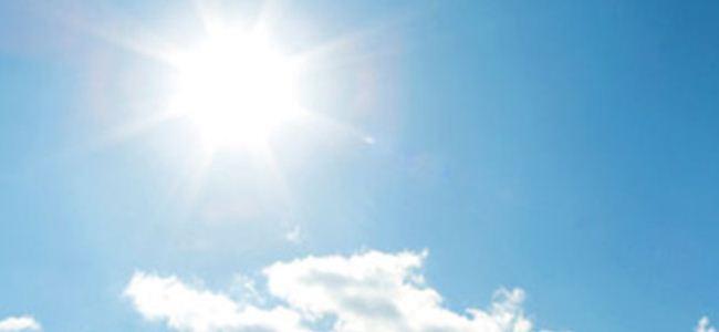 Sıcaklık 36 derece