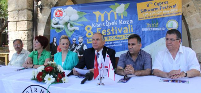 """""""Kıbrıs İpek ve Koza Festivali"""" başlıyor"""