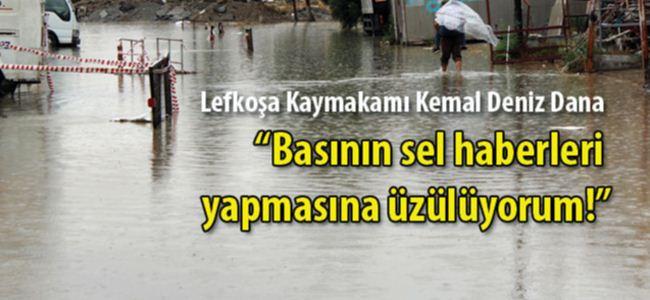 Su baskınına değil yazılan haberlere üzüldü