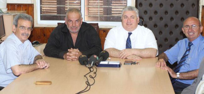 TDP Genel  Başkanı Çakıcı Çiftçiler Birliği'ni ziyaret etti
