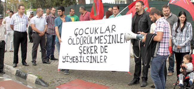 AKP protesto edildi