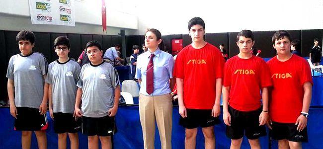 Masa tenisçileri gruptan çıktı