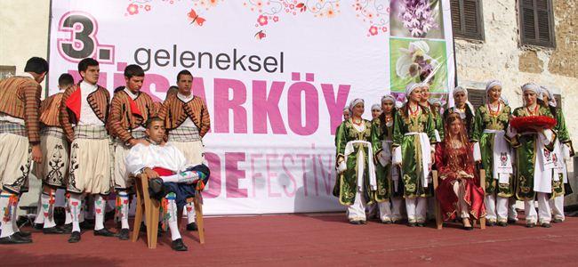 Hisarköy Orkide Festivali başladı