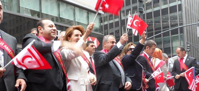 Küçük Türk Yürüyüşüne katıldı