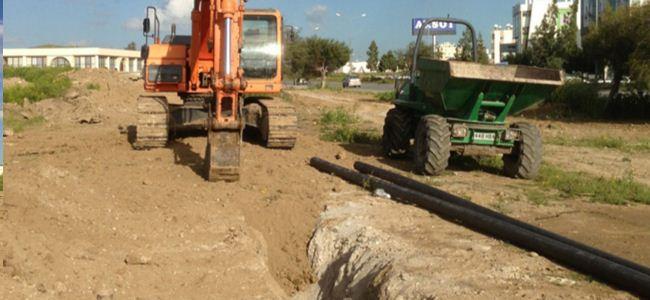 Lefkoşa Organize Sanayi Bölgesi'nin su sorunu çözüldü