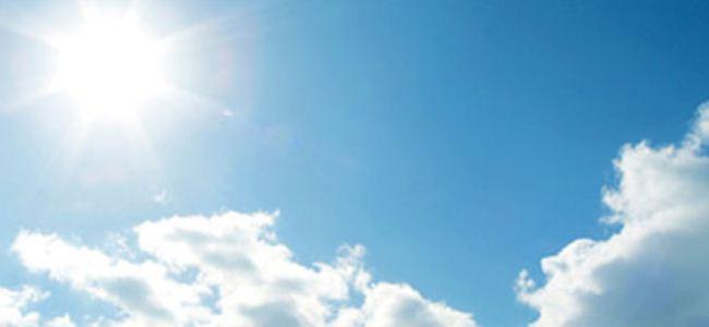 Sıcaklık 35 derece