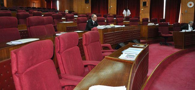 Meclis toplanamadı
