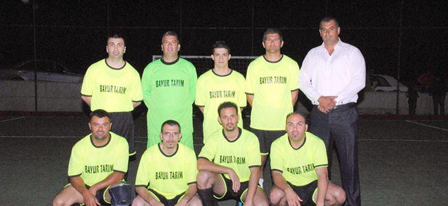 Barış Halı Saha Futbol Turnuvası sürüyor