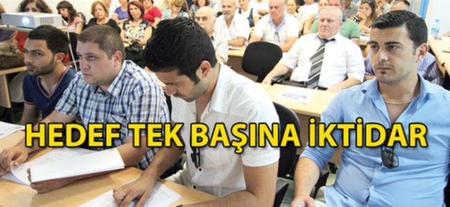 CTP'de seçim startı verildi