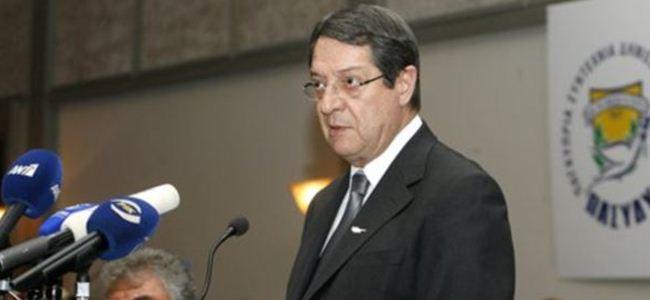 Anastasiadis, çözüm politikası için Ulusal Konseyi bekliyor