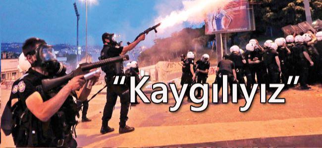 Beyaz Sarayın gözü Taksimde