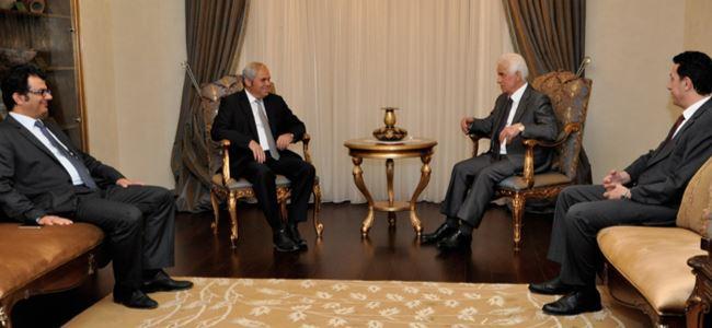 Eroğlu, CTP ile görüştü