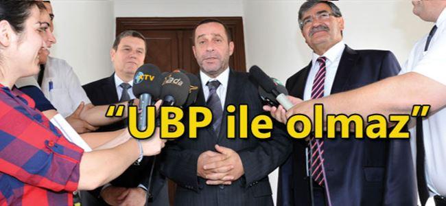 Eroğlu - DP-UG görüşmesi tamamlandı