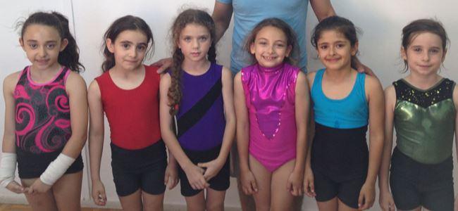 Küçük cimnastikçiler Türkiye'de