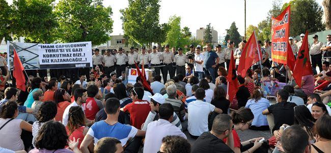 """Kıbrıs'ta TOMA istemiyoruz"""