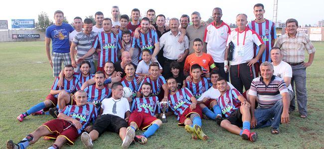 İskele Trabzon bir üst ligde: 1-2