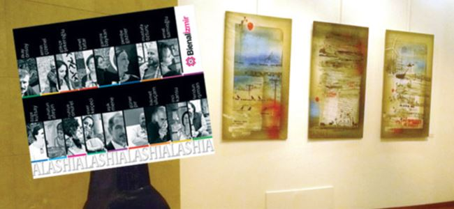 Alashia resim sergisi Gazimağusa'da