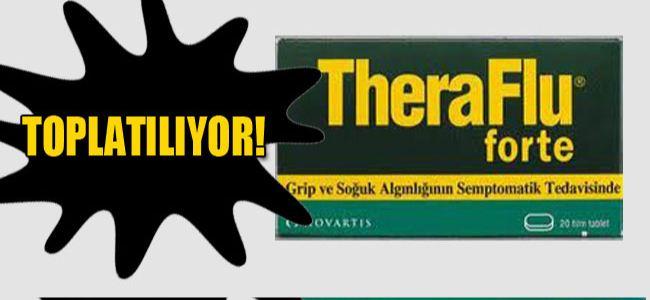 'TheraFlu forte' ilacının 'K0984' serisine dikkat!