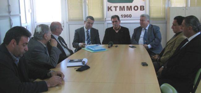 TDP adayı Hüdaoğlu, KTMMOB'yu  ziyaret etti