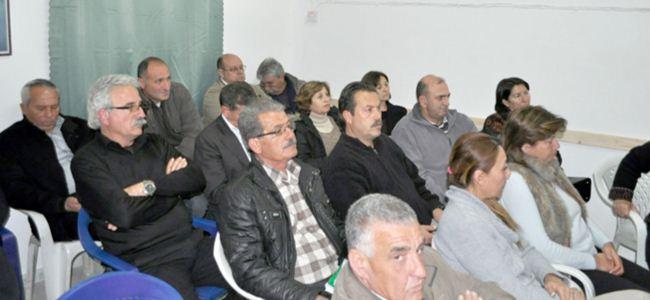 CTP Lefke'de Lefkoşa'yı tartıştı