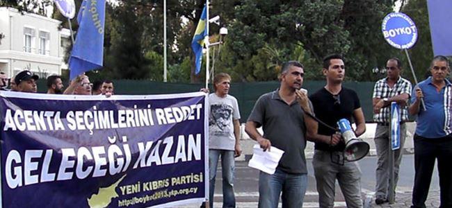 YKP boykot yürüyüşü yaptı