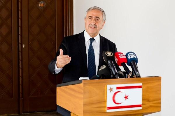 Akıncı'dan Erdoğan'a taziye mesajı