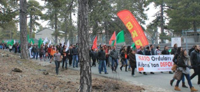 BKP ve EDON İngiliz Üslerine karşı yürüdü