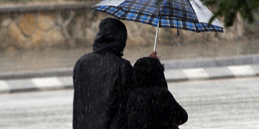 En fazla yağış Kıbrıs'ın doğusuna