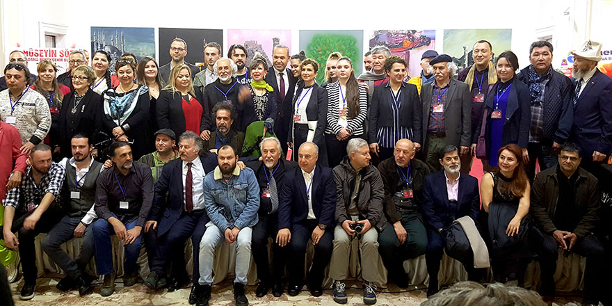 YDÜ Türk Dünyası Sanat Çalıştayı'na katıldı
