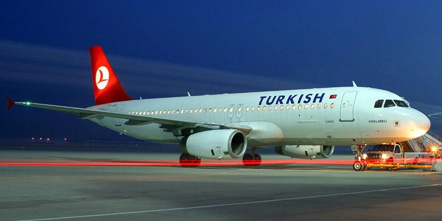56164 Ercan- İstanbul seferini yapan THY uçağı acil iniş yaptı
