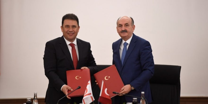 TC ile KKTC arasında sosyal güvenlik anlaşması imzalandı
