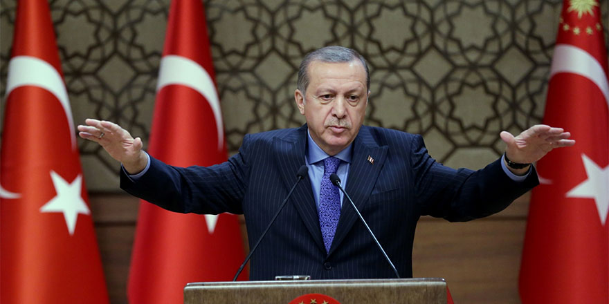 """Erdoğan: """"Doğu Akdeniz'deki petrol arama faaliyetlerimizi durdurmayacağız"""""""