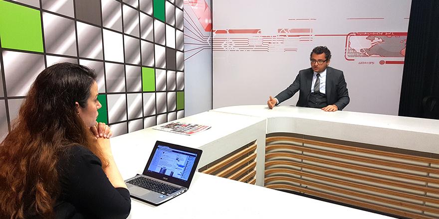CTP Genel Başkanı Tufan Erhürman'dan KANAL SİM'e özel açıklamalar