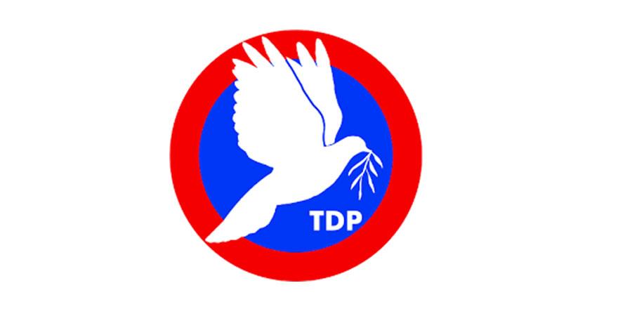 TDP Parti Meclisi, son gelişmeleri değerlendirdi