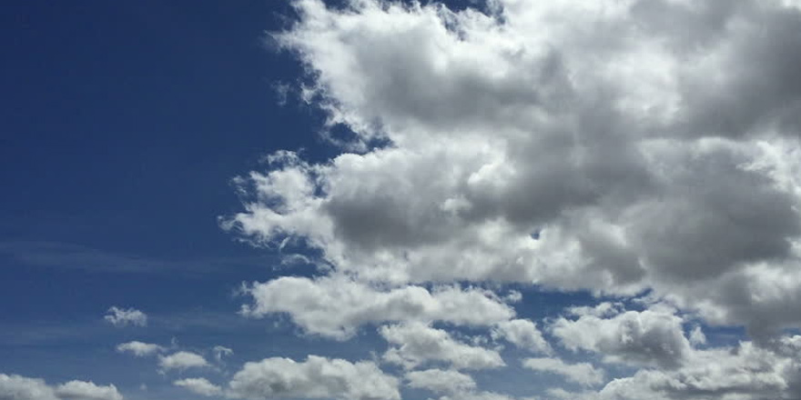 Hava parçalı bulutlu…
