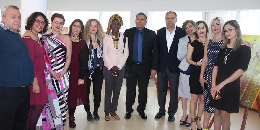 '1. Uluslararası Kadın Ressamları Buluşması' tamamlandı