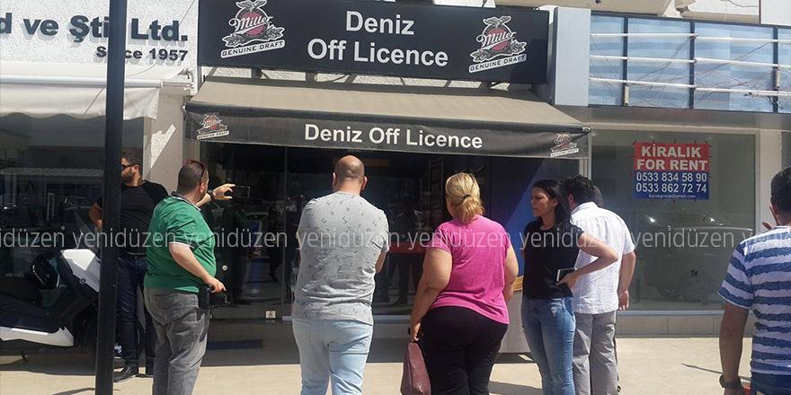 Deniz Off Licence kurşunlandı…